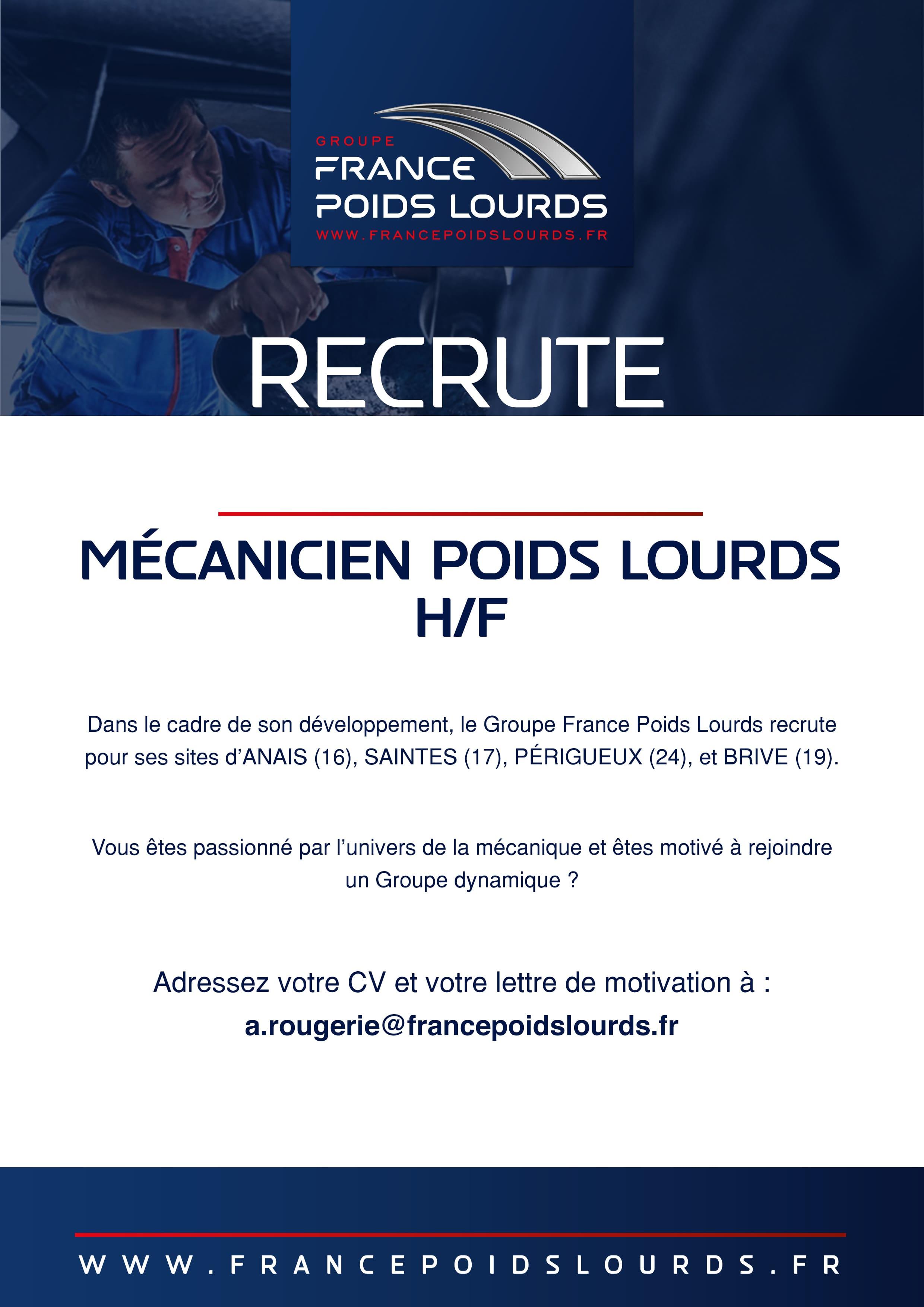 Présentation Du Groupe France Poids Lourds Depuis 1980